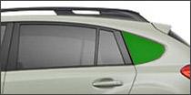driver side quarter glass Ajax