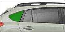 passenger side quarter glass Ajax