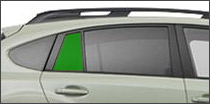 passenger side vent back glass Ajax